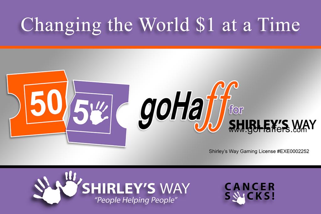 Shirley's Way-Cancer Sucks-Help with bills-People Helping People-goHaffers-Split the pot-Queen of Hearts