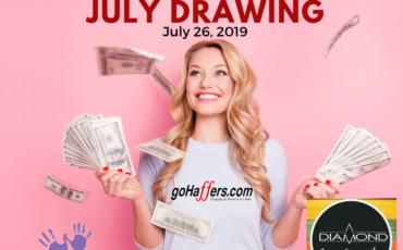 GoHaffers July Drawing